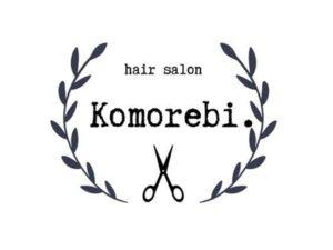 ヘアサロンコモレビ(Komorebi.)のロゴ